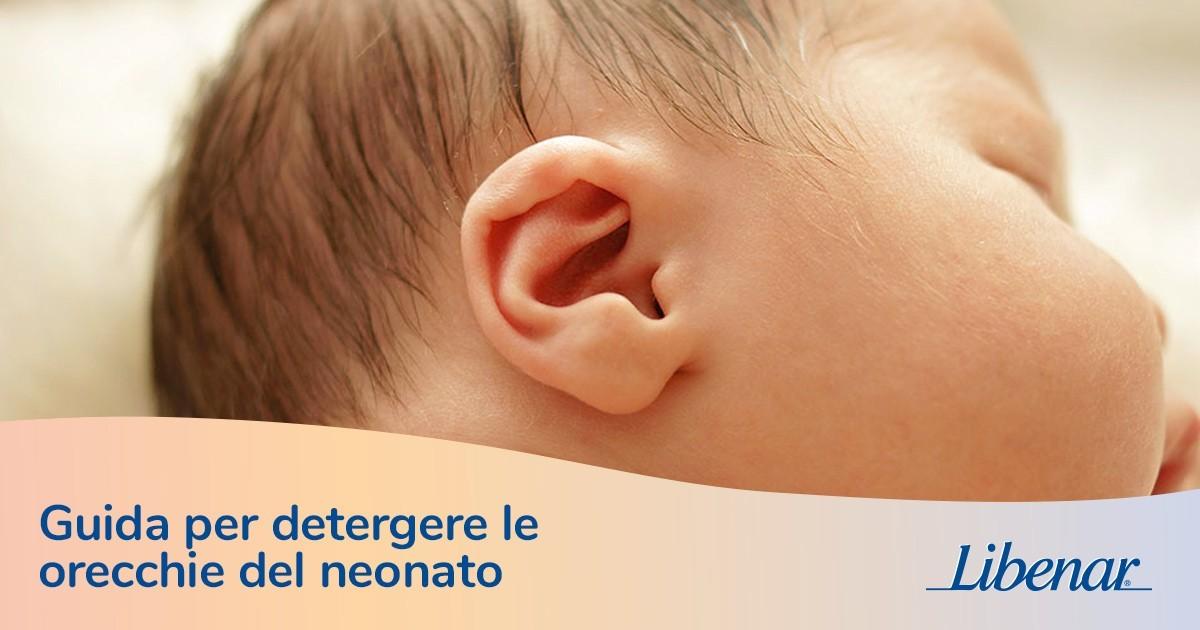 a36fd5df3fb5 Come pulire le orecchie di un neonato