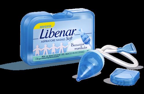 Libenar Aspiratore Nasale Soft Per Rimuovere Il Muco Dei Neonati